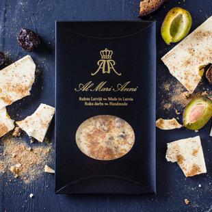 Белый шоколад с черносливом и Латвийским ржаным хлебом